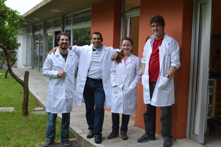 Our team at Centro Universitario in Rivera, Ururguay